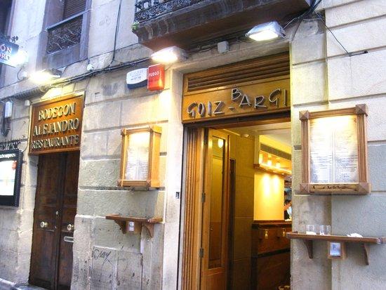 Bar Goiz Argi: 外観