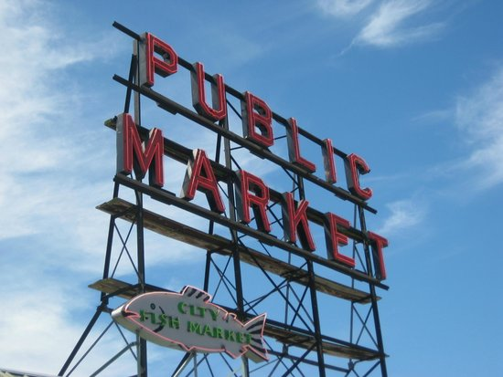 Mayflower Park Hotel: Pikes Market