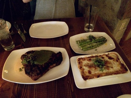 Open Range: Porterhouse Project for two... just delicious !