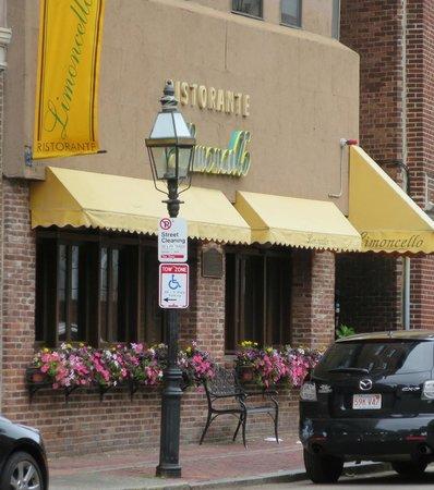 Limoncello in Boston's North End.