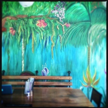 Gilded Iguana Hotel: inside the iguana restaurant