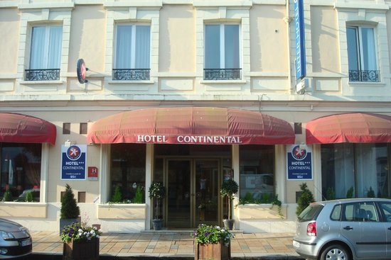 Inter Hotel Continental: Fachada