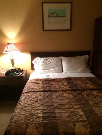 Canadas Best Value Inn Trenton: One of the Queen sized beds