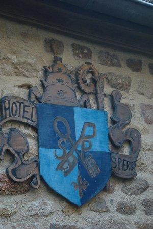 Auberge Saint Pierre: Frente do Hotel