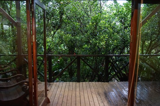 Rio Celeste Hideaway Hotel : Balcony