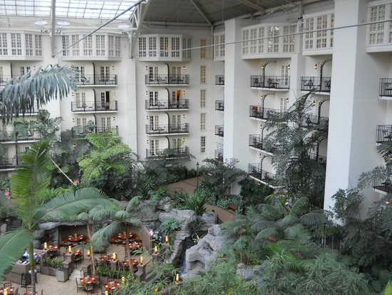 Gaylord Opryland Resort & Convention Center : View from our room
