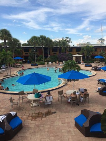 Coco Key Hotel and Water Park Resort : The view from my room