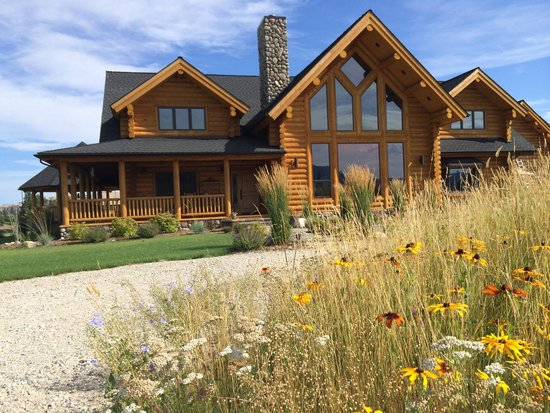 Bitterroot River Ranch: wildflowers in bloom