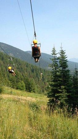 Whitefish Mountain Resort Zip Line Tour