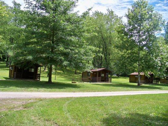 Mantua, โอไฮโอ: Cabins