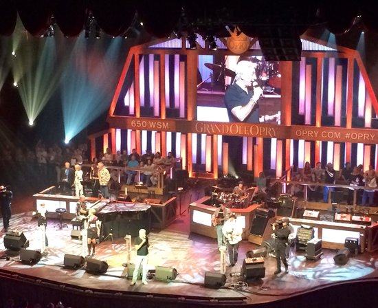 Grand Ole Opry: Best time! Different because each band only plays 3 times! You can't ever get tired of anyone ac