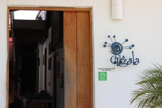Posada La Cigala: Entrada da Pousada La Cigala