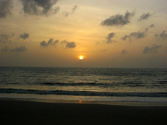 Beyond Resort Khaolak: Sunset from the Beach Bar