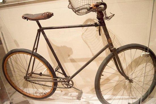 Forest Park de San Luis: Bicicleta antiga