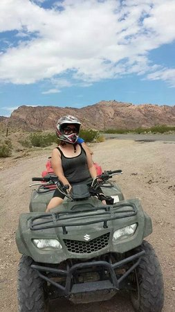 Awesome Adventures: The ATV ride.