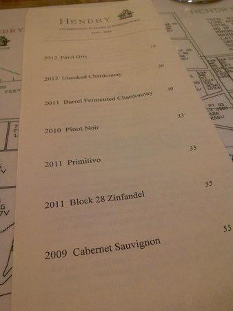 Hendry Ranch Wines : Wines