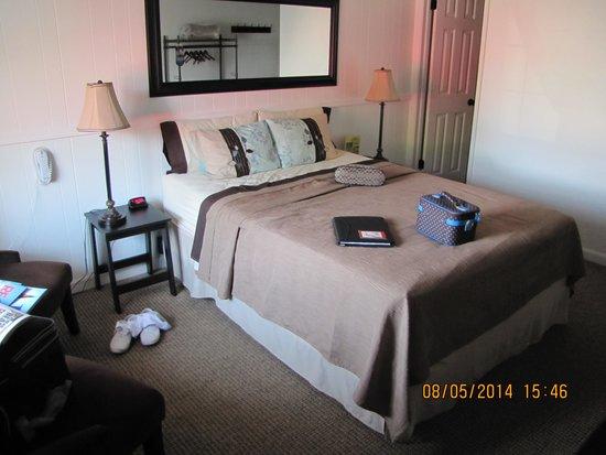Kalispell Hilltop Inn : Queen Bed