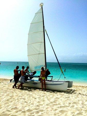 Seven Stars Resort: Sailboats for use (at no extra charge)