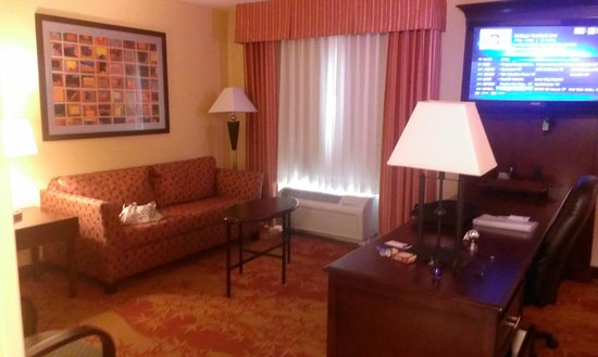 Hampton Inn & Suites Denver Highlands Ranch: king suite w/balcony