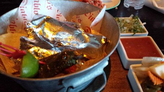 Diablo's Cantina: Street Tacos - delicious!!