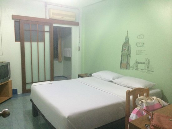 Manee Guest House : standart , double bed , air