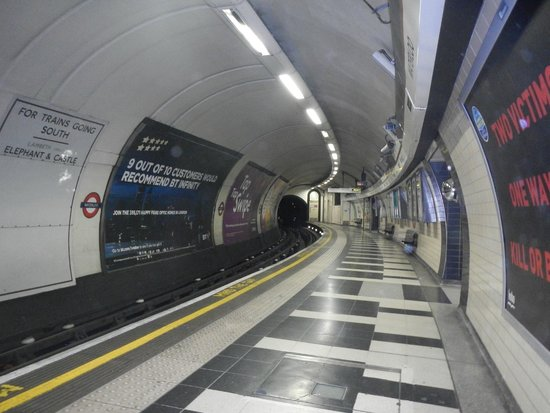 London Underground: It's not always busy...