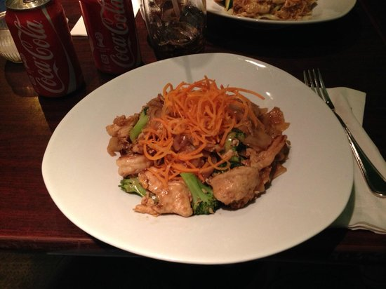Aceluck Thai : My entree