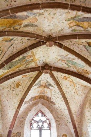 Alte Kapelle: Ceiling
