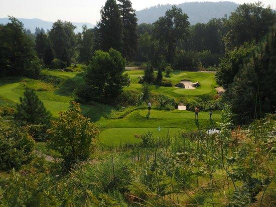 Enzian Inn: Enzian's 18-hole putting course across the street