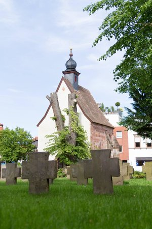 Alte Kapelle: Back view