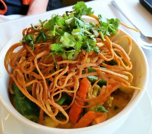 Sadudee Thai Food: Khao Soi - Northern Thai Noodle Dish.