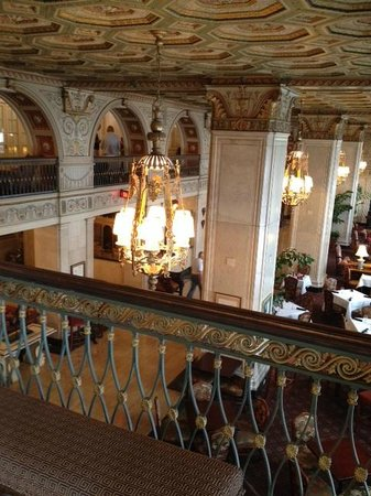 The Brown Hotel: Hotel Lobby