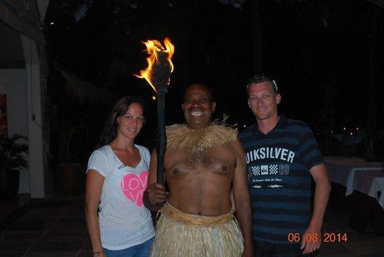 Tokoriki Island Resort : Fijian fire lighter (aka-MOSES!!)