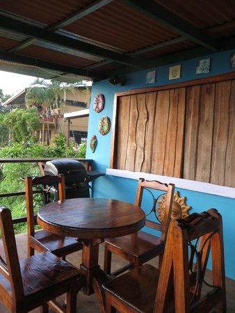 Hostel Vista Serena: Restaurant, before open hours