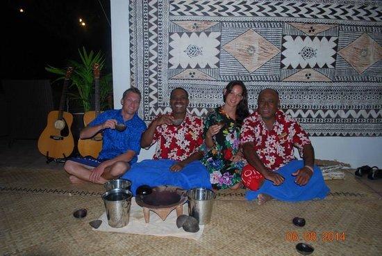 Tokoriki Island Resort : Yaqona ceremony (kava)
