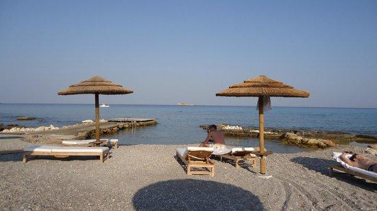 AquaGrand Exclusive Deluxe Resort: пляж