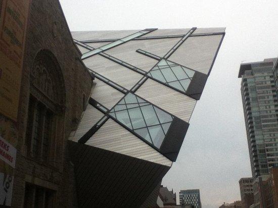 Musée royal de l'Ontario : Main entrance