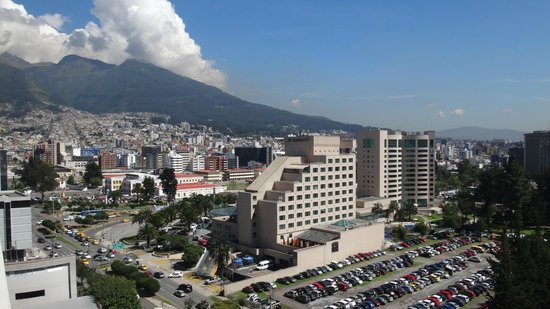 Holiday Inn Express Quito: view over the city