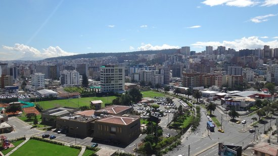 Holiday Inn Express Quito: view from the top