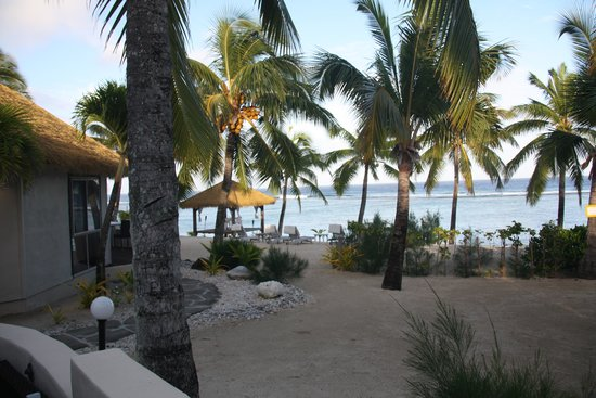 Crown Beach Resort & Spa: View from our Villa