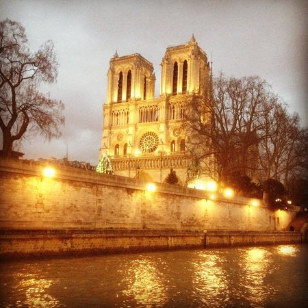 Catedral de Notre Dame: A view from the seine