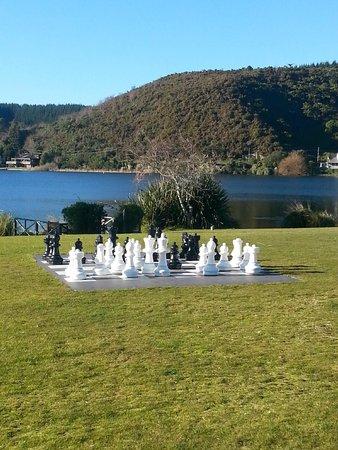 VR Rotorua Lake Resort: outside areas
