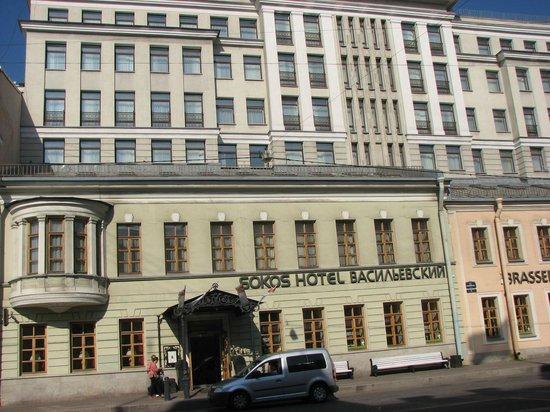 Solo Sokos Hotel Vasilievsky: Outside hotel