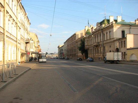 Solo Sokos Hotel Vasilievsky: Outside street