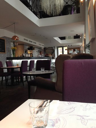 School Restaurant and Lounge: Interior view from my seat