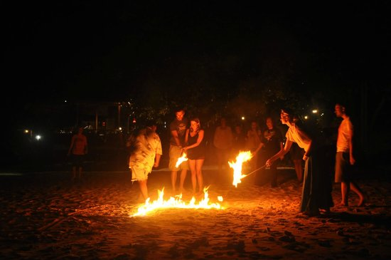 Bagus Place Retreat: The Saturday night bonfire