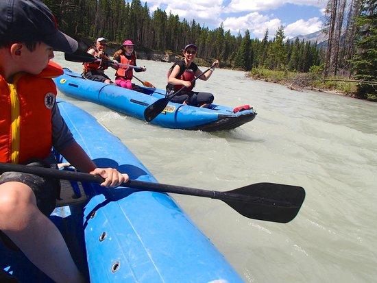 Nipika Mountain Resort: White water canoe trip