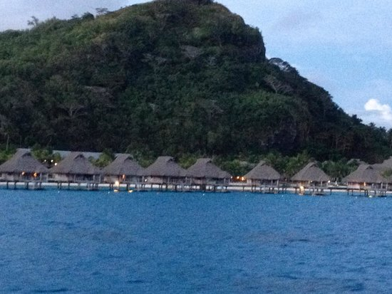Conrad Bora Bora Nui : View from Hilton transport from airport