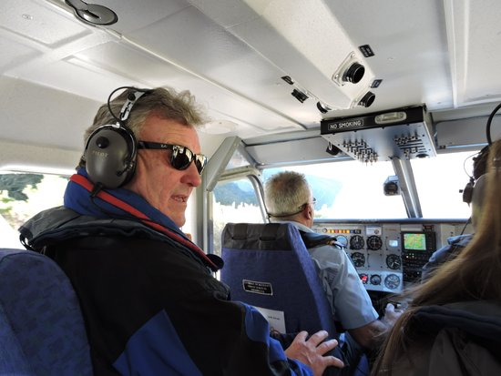 Glenorchy Air: Dean and Pilot Captian Ray