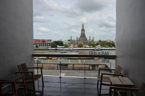 Inn A Day: Vue de la Terrasse